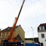 Stavba domu - Košíře